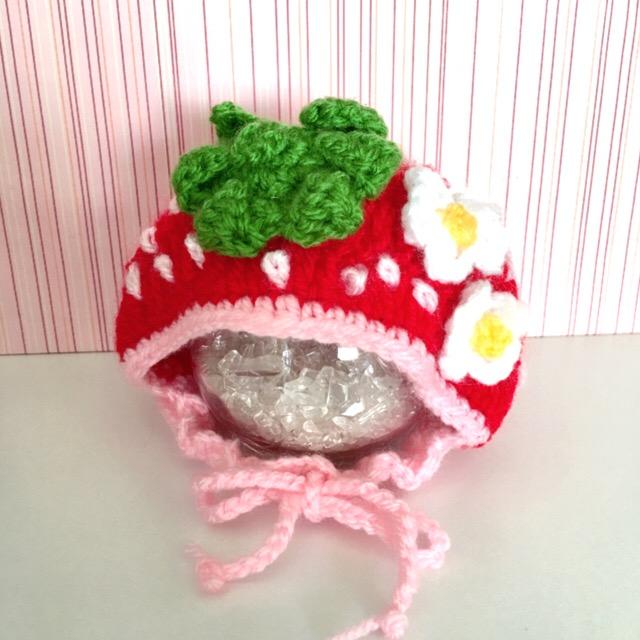 画像1: 花付きイチゴちゃん